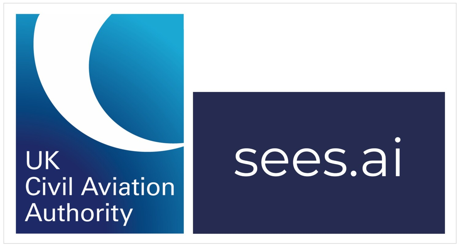 sees.ai and CAA logo side by side